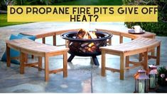 Are you looking for this query? Do propane fire pits give off heat? Don't worry. You are here at the right place. This article will help you to clarify all your confusion. The propane fire pits will give off heat. If you want to get amazed by the more heat, we recommend adding more lava rocks. Do fire pits keeps you warm? Of course, it's the reality that fire pits keep warm all surrounding people. If you are trying a candle flame, it may give you less warmth. Fire Pit Size, Small Fire Pit, Wood Fire Pit, Fire Pits, Portable Propane Fire Pit, Gas Fires, Outdoor Fire, Confusion, Lava