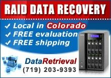 RAID Data Recovery in Colorado...