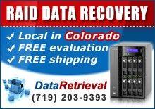 RAID Data Recovery in Colorado...