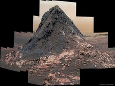 """apod: """" 2017 July 19 Ireson Hill on Mars Image Credit: NASA, JPL-Caltech, MSSS Explanation: What created this unusual hill on Mars? Its history has become a topic of research, but its shape and. Nasa Space Pictures, Astronomy Pictures, Space Images, Nasa Curiosity Rover, Curiosity Mars, Sistema Solar, Cosmos, Mars Planet, Stars"""