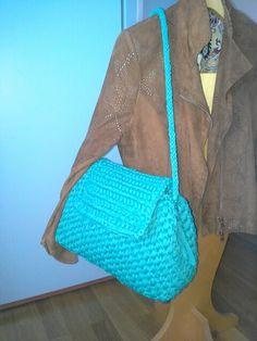 #borsa#patella#bauletto#bag#uncinetto#creareconpassione#fettuccia#handmade#fattaamano#kumimo