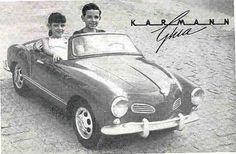 Volkswagen Karmen Ghia (the most beautiful automobile ever thought of) Volkswagen Karmann Ghia, Karmann Ghia Convertible, Vintage Children Photos, Best Kids Toys, Kids Ride On, Jeep Cars, Pedal Cars, Funny Kids, Motor Car