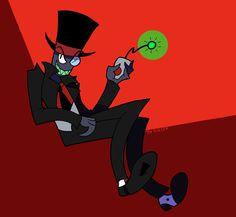 Villainous Black Hat by tie-dye-flag
