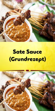Sate Sauce Recipe, Sauce Recipes, Dressings, Chili, Dips, Food And Drink, Veggies, Beef, Asian