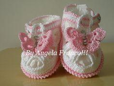 Angela and crochet art