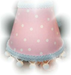Sweet Pink and White POLKA DOTS Mini by goodtidingscreations