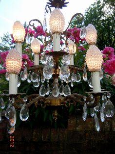 Medium Torpedo Beaded Light Bulb Cover Aqua Turquoise Lamp Shade Sconce Pendant Chandelier Ceiling Fan And Bulbs