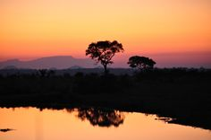 South African Sunset #Singita Boulders, #SabiSands, #SouthAfrica