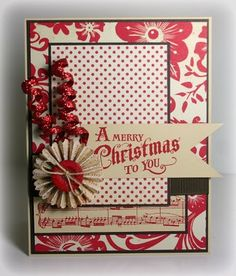 Beautiful design.                                         Wendy Schultz - Christmas Cards.