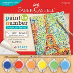 Museum Series Paint By Number Kit, 6 inch x 8 inch, Multicolor