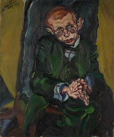 """Ludwig Meidner paints """"Max Herrmann-Neisse"""" 1913 """"Don't let your pen stop until the soul of that one opposite you is wedded to yours in a covenant of pathos"""" Max Beckmann, Paula Modersohn Becker, Franz Marc, Harlem Renaissance, Max Ernst, Rainer Fetting, Karl Hofer, Ludwig Meidner, Karl Schmidt Rottluff"""