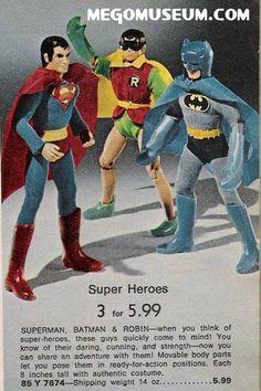 MEGO SUPER HEROES