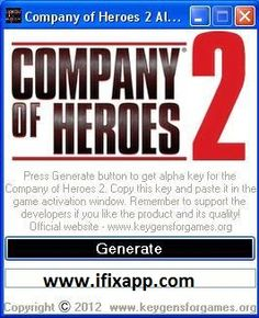 Company Of Heroes Unlock Code Keygen Download
