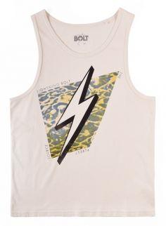 Nuro Bolt Tank - MEN - Tees & Tanks - Lightning Bolt