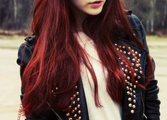 red hair   @ twitter.com/imthiachulu | instagram.com/imthiachulu | #follow #follow4follow #followback #fashion #fitness #food