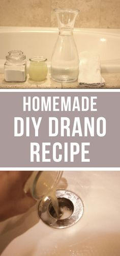 Homemade Drano Recipe!