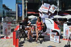 Diet Coke Experiential Product Sampling - Verve, The Live Agency- Verve, The Live Agency