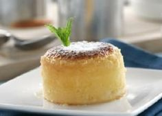 Cómo hacer coulant de chocolate blanco #postre #receta #coulant