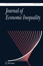 The Journal of Economic Inequality provides a forum for economic investigations and analyses of the numerous questions regarding economic and social inequalities, both at the theoretical and the empirical level. Moreover, it ...