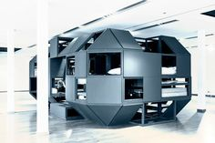 The compact modular office you can sleep in
