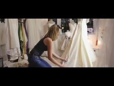How to make a WEDDING DRESS? Sewing and design of bridal gown - YouTube