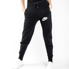 Nike Jogger Sweatpants •The Nike Rally Jogger Women's Sweatpants are made with a cozy cotton blend in a slim-fitting profile for warmth and a streamlined look.   •Size S, runs big and would be best for a Medium.  •New with tag.   •NO TRADES/PAYPAL/MERC/VINTED/NONSENSE. Nike Pants Track Pants & Joggers