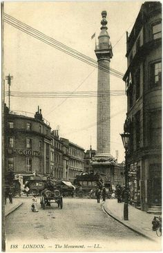 London The Monument (undated)