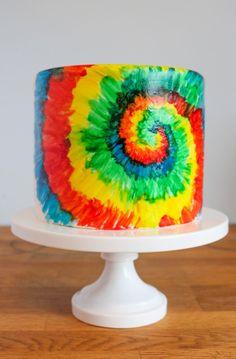 Far Out Man! How to Make a Tie-Dye Cake  Inside and OutReally  Mein Blog: Alles rund um Genuss & Geschmack  Kochen Backen Braten Vorspeisen Mains & Desserts!