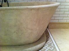 Concrete Design and Fabrication Group Features GFRC: Concrete Bathroom