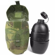 British Army Osprey Bottle and DPM Pouch – Army and Outdoors Camping And Hiking, Camping Survival, Hiking Gear, Survival Gear, Canteen Bottle, Army Surplus, Go Bags, Survival Equipment, First Aid Kit