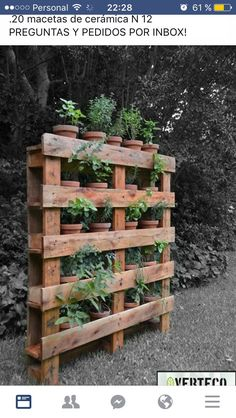 If you are looking for Diy Projects Pallet Garden Design Ideas, You come to the right place. Below are the Diy Projects Pallet Garden Design Ideas. Organic Gardening, Gardening Tips, Companion Gardening, Gardening Zones, Hydroponic Gardening, Potager Palettes, Garden Planters, Pallet Planters, Garden Projects