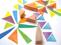 Triangle Stamps