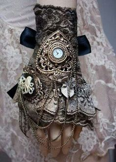 Women's Fashion:  Steampunk cuff #BEBrand #Newcifera #BuyDotExpress