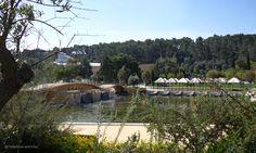 https://flic.kr/p/MrCbZU | Parque Urbano do Jamor | Ponte e pista de atividades náuticas do Centro Desportivo Nacional do Jamor.