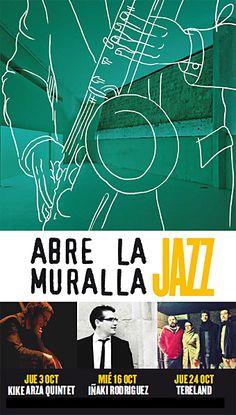 Los restos amurallados de Baluarte se abren de nuevo a la música, en esta ocasión al Jazz, con un proyecto cargado de creatividad y frescura que llega de la mano de Baluarte y la colaboración de Carné Joven. Abre la MuraJazz coge en octubre el testigo del ciclo Abre la Muralla y presenta tres conciertos en los que se combinarán diferentes estilos de música jazz, desde la fusión del jazz clásico y moderno hasta sonidos nuevos y originales. Abre la MuraJazz tendrá como protagonistas a Kike…