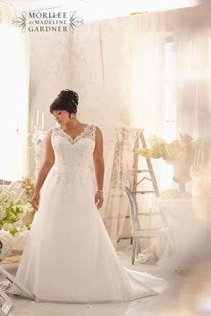 Wedding gowns for the plus size brides