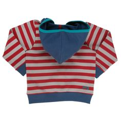Baby Boy Hoodie - Stripy Zip-up - Baby Boy Jumpers - Boys - Little Chickie