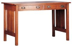 Spindle Library Desk