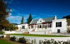 The Manor House at Mont Rochelle, Franschhoek Cape Winelands