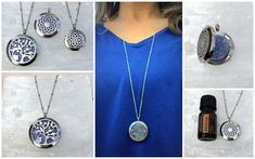 Improve your mood, reduce anxiety, or whatever issue you want to work on, by wearing your favorite essential oil all day! Wonderful for children! Essential Oil Diffuser, Essential Oils, Washer Necklace, Pendant Necklace, Diffuser Necklace, Aromatherapy, Anxiety, Essentials, Stainless Steel
