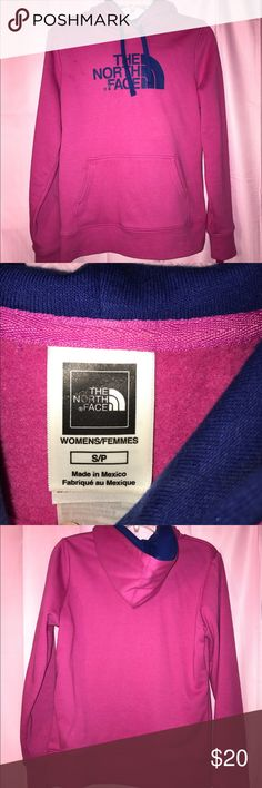 North face pullover Pink pullover North Face Sweaters