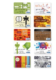Gift Card Designs by Tactix Creative, via Behance