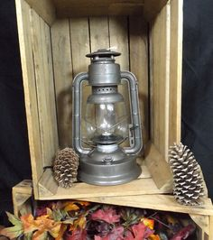 Electric Lantern Lamp - Dietz D-Lite in a slightly rustic bronze finish.  www.BigRockLanterns.com Lantern Lighting, Lantern Lamp, Lanterns, Electric Lantern, Wagon Wheel Chandelier, Rustic Bathrooms, Ceiling Fixtures, Vintage Love, Bronze Finish
