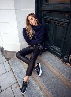 Lederhose für Damen - zeitlos modern