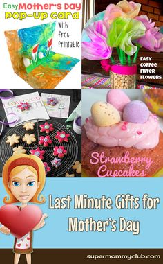 Last Minute Gifts for Mother's Day!
