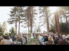 Hyatt Regency Lake Tahoe- Wedding video w/ outdoor ceremony, beach, and indoor venue for reception