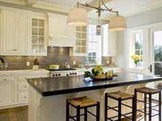 Beautiful kitchen, love the backsplash - Houzz