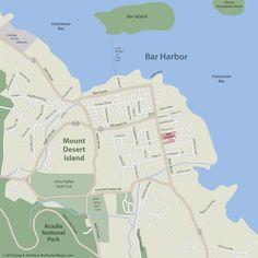Bar Harbor Map