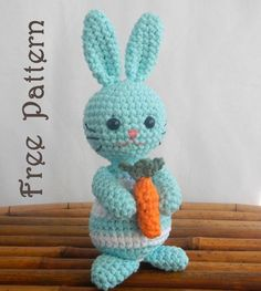 Looking for crocheting project inspiration? Check out Amigurumi Bunny: Martin the Bunny Rabbit by member Ida Herter.