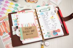 Stretch Your Daisy Day Planner Pages | Cocoa Daisy | Cocoa Daisy